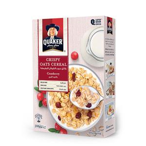 Quaker Crispy Oats Cereal - Cranberry