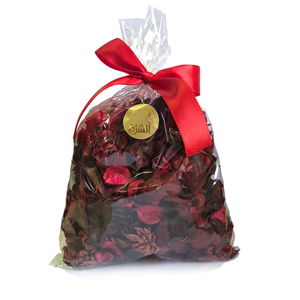 POT POURRY BAG LARGE RED NEW