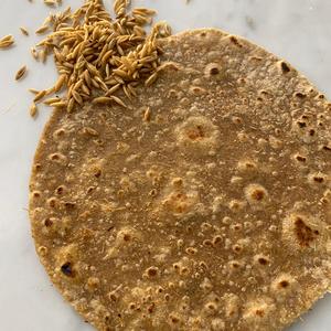 Oat Sourdough Indian chapati Bread 2 pieces