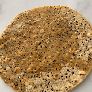 Wheat Sourdough Chapati bread with Black seeds & Sesame 3 pieces