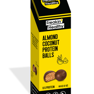 Freakin Healthy Almond Coconut Protein Balls 60g