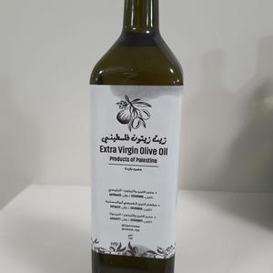 Palestinian olive oil bottle ( 1 liters )