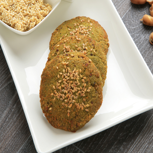 1 Dozen Sprouted Fava beans Falafel with sprouted quinoa (Gluten-Free)