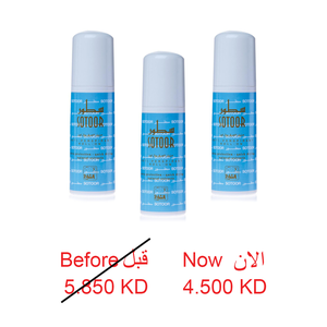 SOTOOR DEOD ROLL ON 75 ML 3 PCS