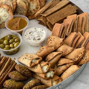 Eid tray with 3 bowls