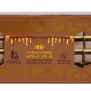 Choco Bee Belgian Cacao With Ginseseng Honey 250gm