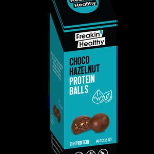 Freakin Healthy Choco & Hazelnut Protein Balls 60g