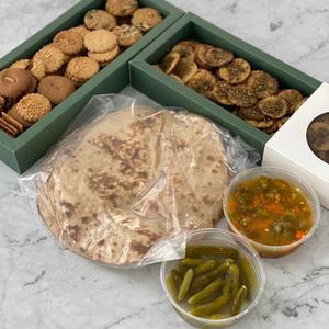 Whole grain sourdough products ( weight 3 kg )
