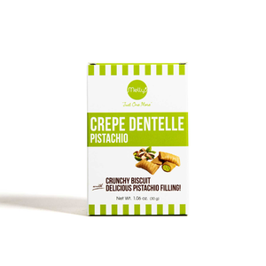 Melly's Mini Crepe Dentelle Pistachio 30g