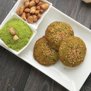 1 Dozen Sprouted chickpeas with vegetable Falafel (Gluten-Free)