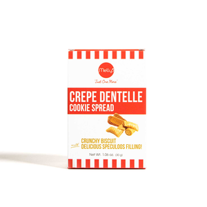 Melly's Mini Crepe Dentelle Cookie Butter 30g