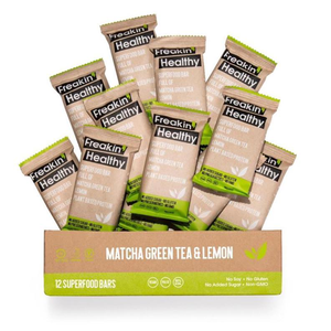 Freakin' Healthy - Healthy Bars - Matcha & Lemon
