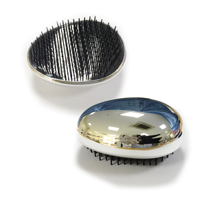HAIR BRUSH WITH PET BOX SILVER AFK-200
