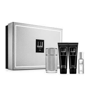 DUNHILL ICON GIFT SET(EDP+GEL+A/SHAVE+BAG/30ML)