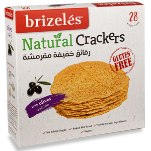 Brizeles Olives - Gluten Free 105g
