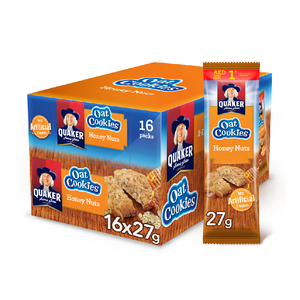 Quaker Cookies Honey Nuts