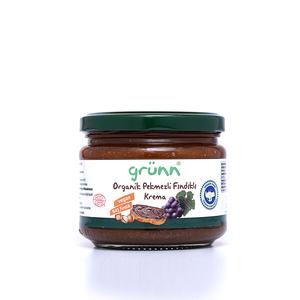 Organig Hazelnut cream with grape molasses