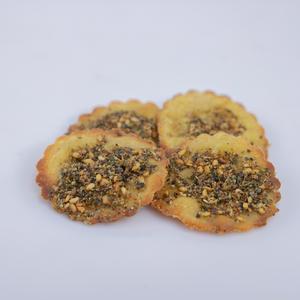 small size whole grain dried za'ater sourdough fatayer ( 8 dozen)