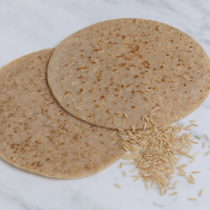 Brown Rice Indian chapati bread Gluten-free 3 pieces