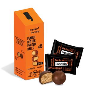 Freakin Healthy Peanut Protein Balls 60g