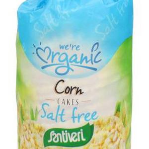 Organic Salt Free Corn Cakes