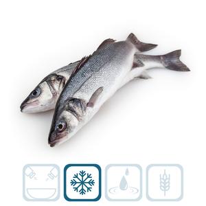 Seabass Frozen Bag 600/800g