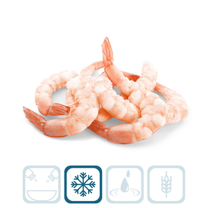 Peeled Shrimp with Tail - Jumbo