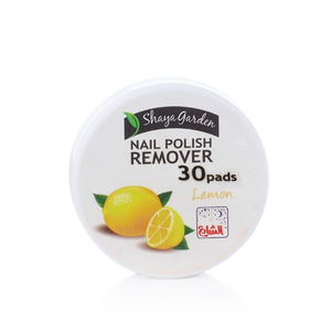 NAIL POLISH REMOVER PAD LEMON