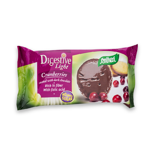 Digestive Light Cranberry Coated Dark Choco