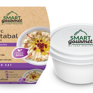 Smart Gourmet Classic Moutabal  Container 225g