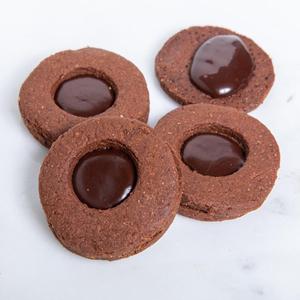 Dark Chocolate Sourdough Cookies ( 4 PCS )