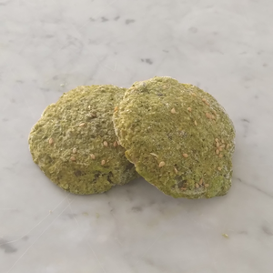 1 Dozen Sprouted Fava beans frozen Falafel with Indian spices (Gluten-Free)