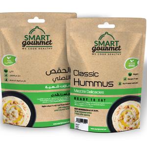 Smart Gourmet Classic Hummus plain pouch 200g