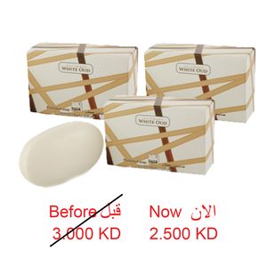 WHITE OUD SOAP 130 G 3 PCS