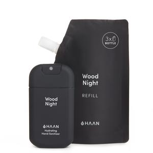 Wood Night Refill + 1 Sanitizer