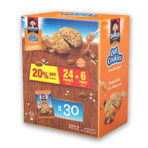 Quaker Cookies Honey & Nuts