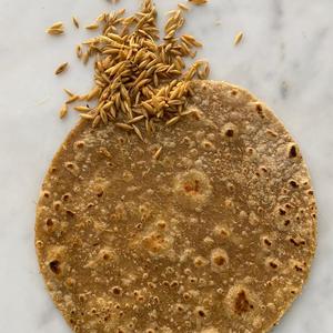 Barley & Oat Sourdough Indian chapati Bread 2 piecs