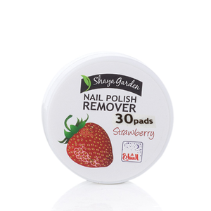 NAIL POLISH REMOVER PAD STRAWBERRY