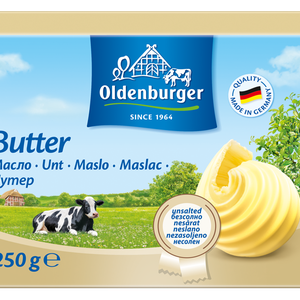 Oldenburger Butter 25Kg Fat 82%