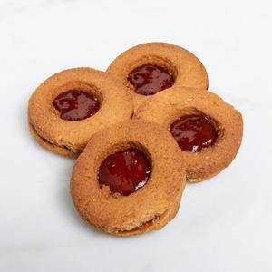 Sugar-free Jam Sourdough Cookies ( 4 PCS )