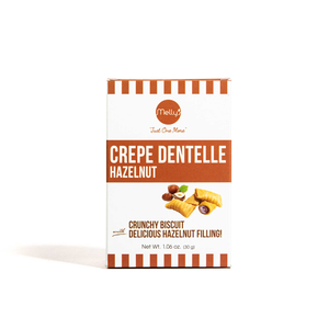 Melly's Mini Crepe Dentelle Hazelnut Chocolate 30g