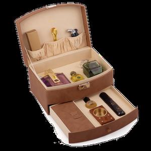 GIFT BOX BROWN VELVET