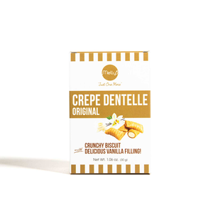 Melly's Mini Crepe Dentelle Vanilla Filling 30g