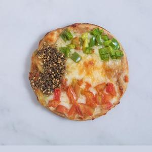 kuwaiti flag pizza