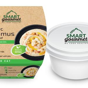Smart Gourmet Classic Hummus Plain Container 225g