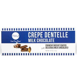 Melly's Crepe Dentelle Milk Chocolate 90g