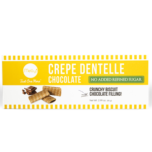 Melly's Crepe Dentelle Choco Filling No Added Sugar 85g