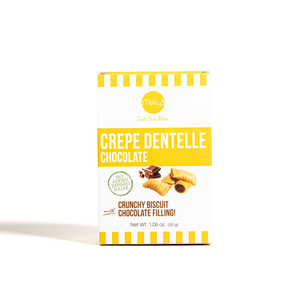 Melly's Mini Crepe Dentelle No Added Sugar 30g