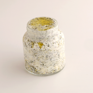Goat Kefir Labneh with za'ater